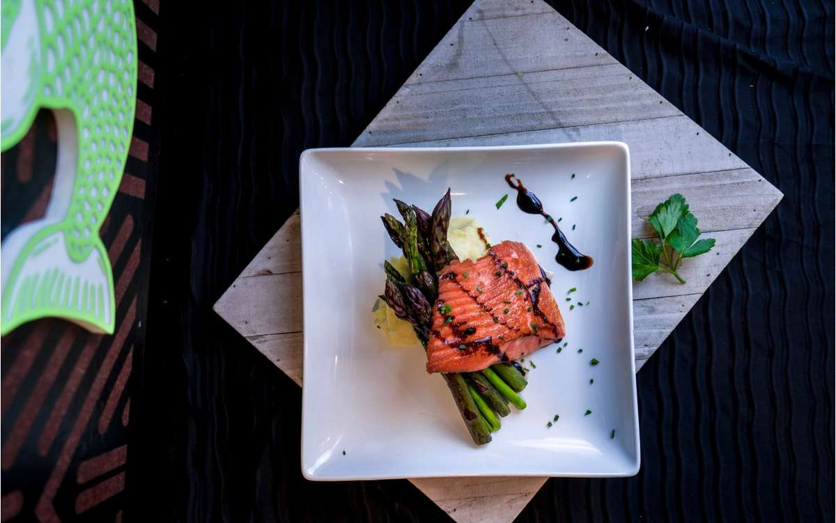 Los Agaves Seasonal Salmon