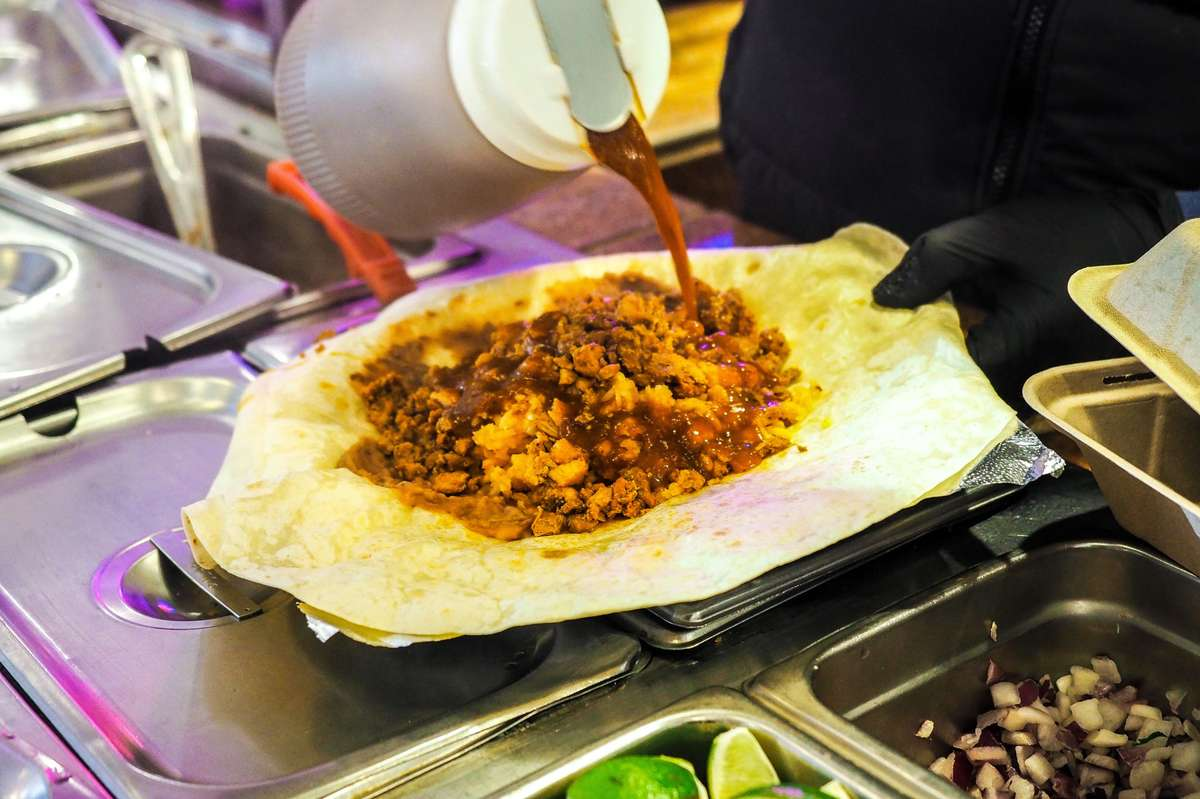Mexican Street Food from the Los Agaves Pike Place Stand