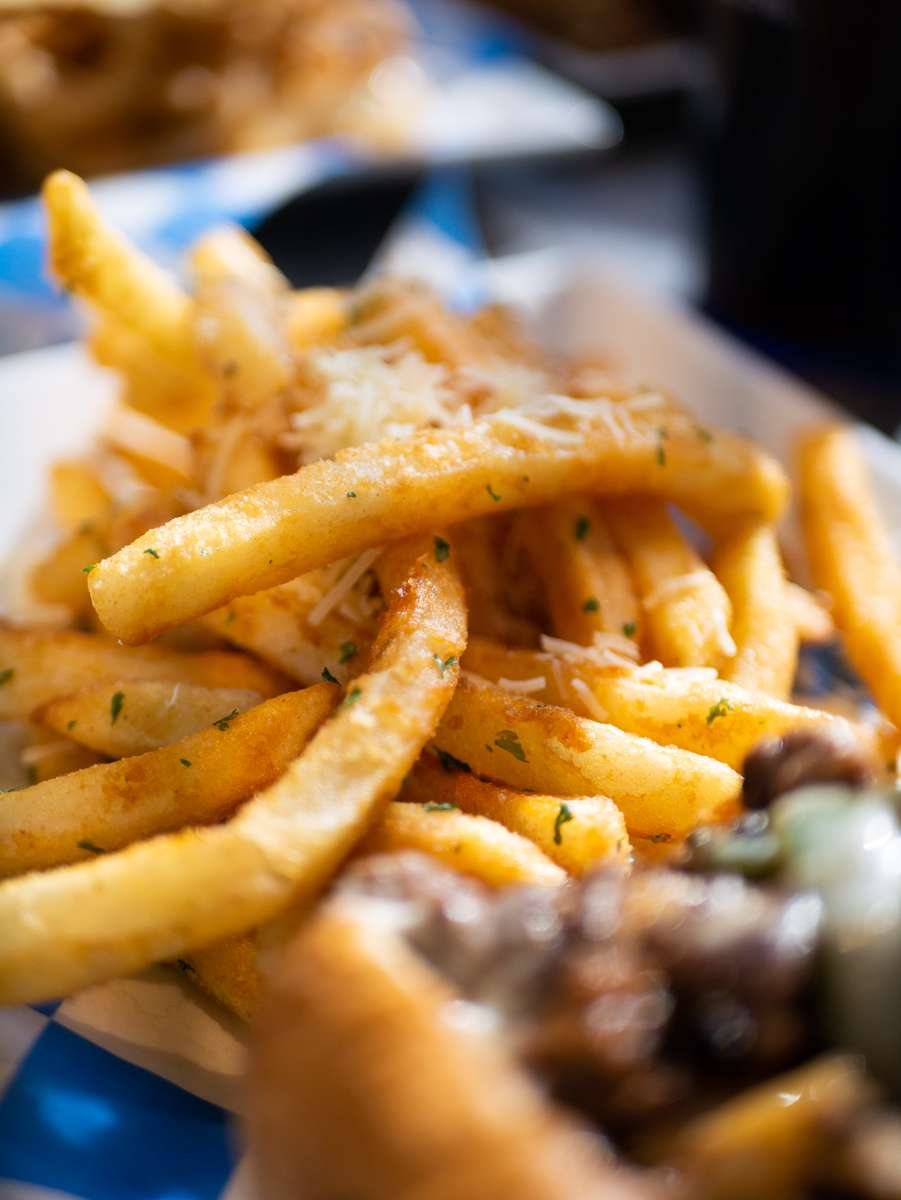 Garlic-Parmesan Fries