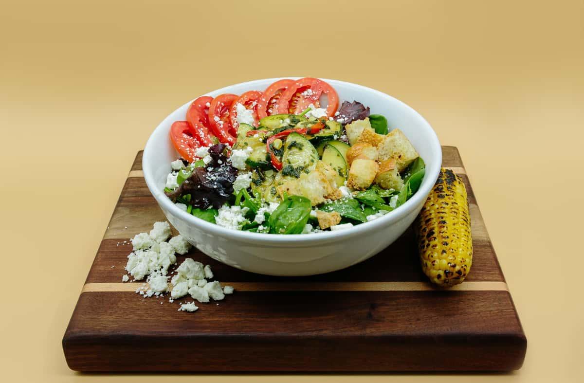 Grilled Mediterrean veggie