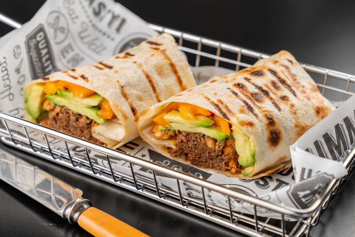 Pulled Beef Burrito