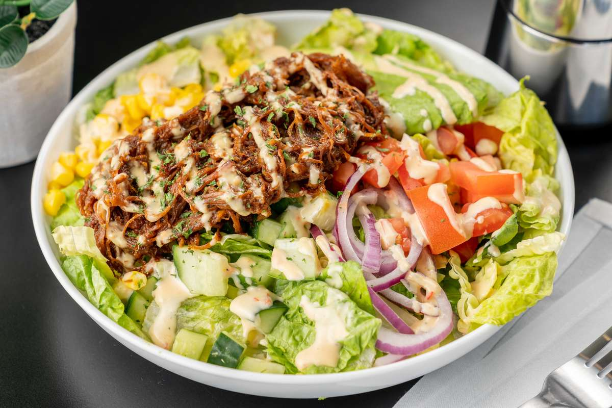 Pulled Beef Salad