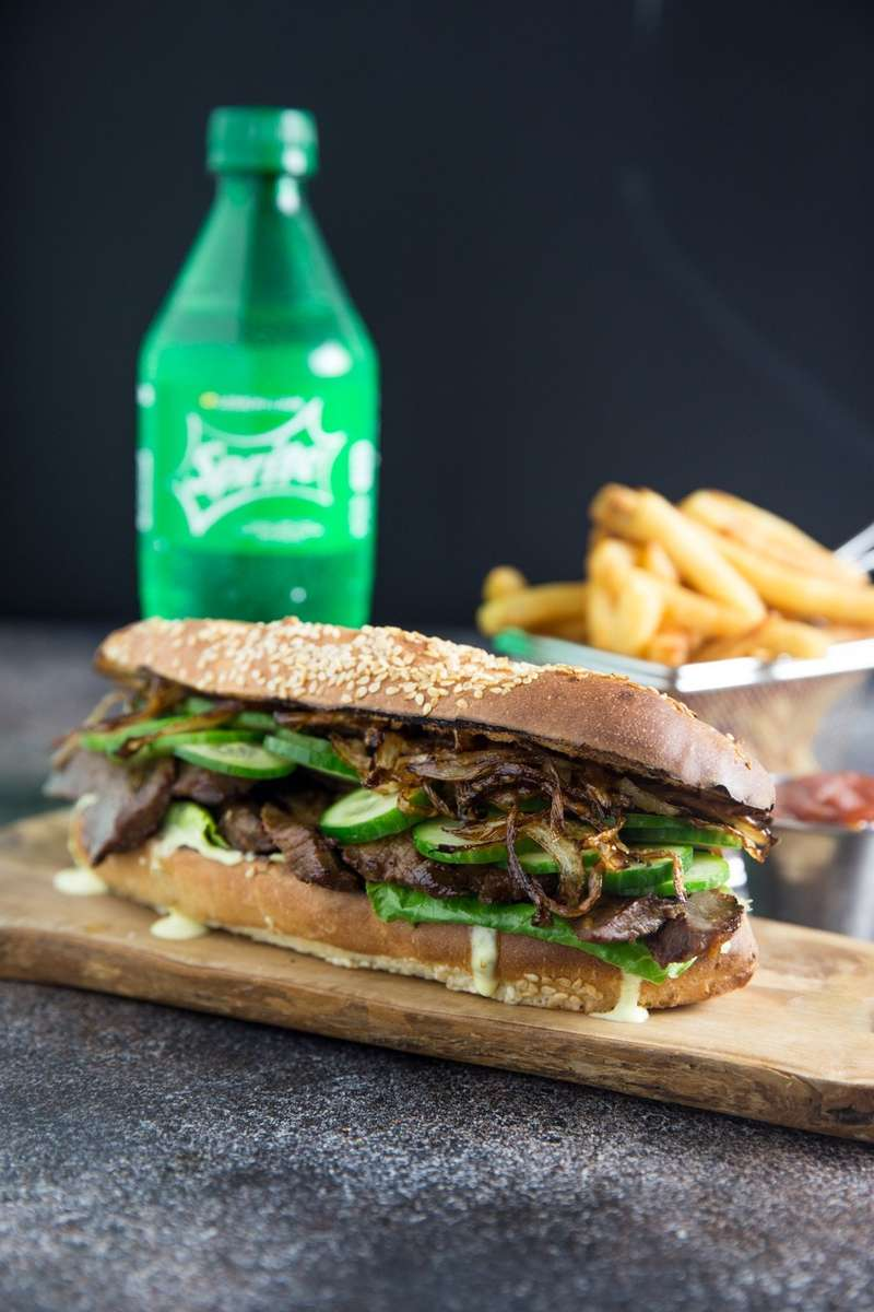 Pepito Steak Sandwich