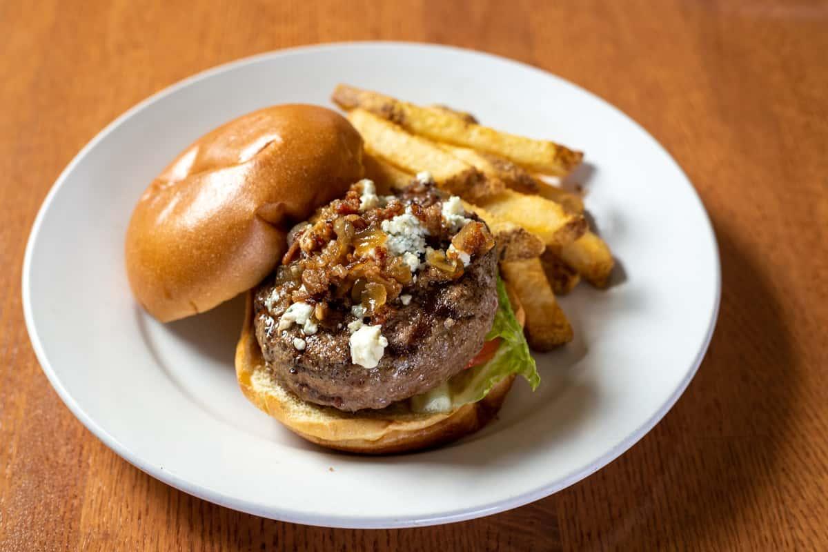Black & Bleu Burger*