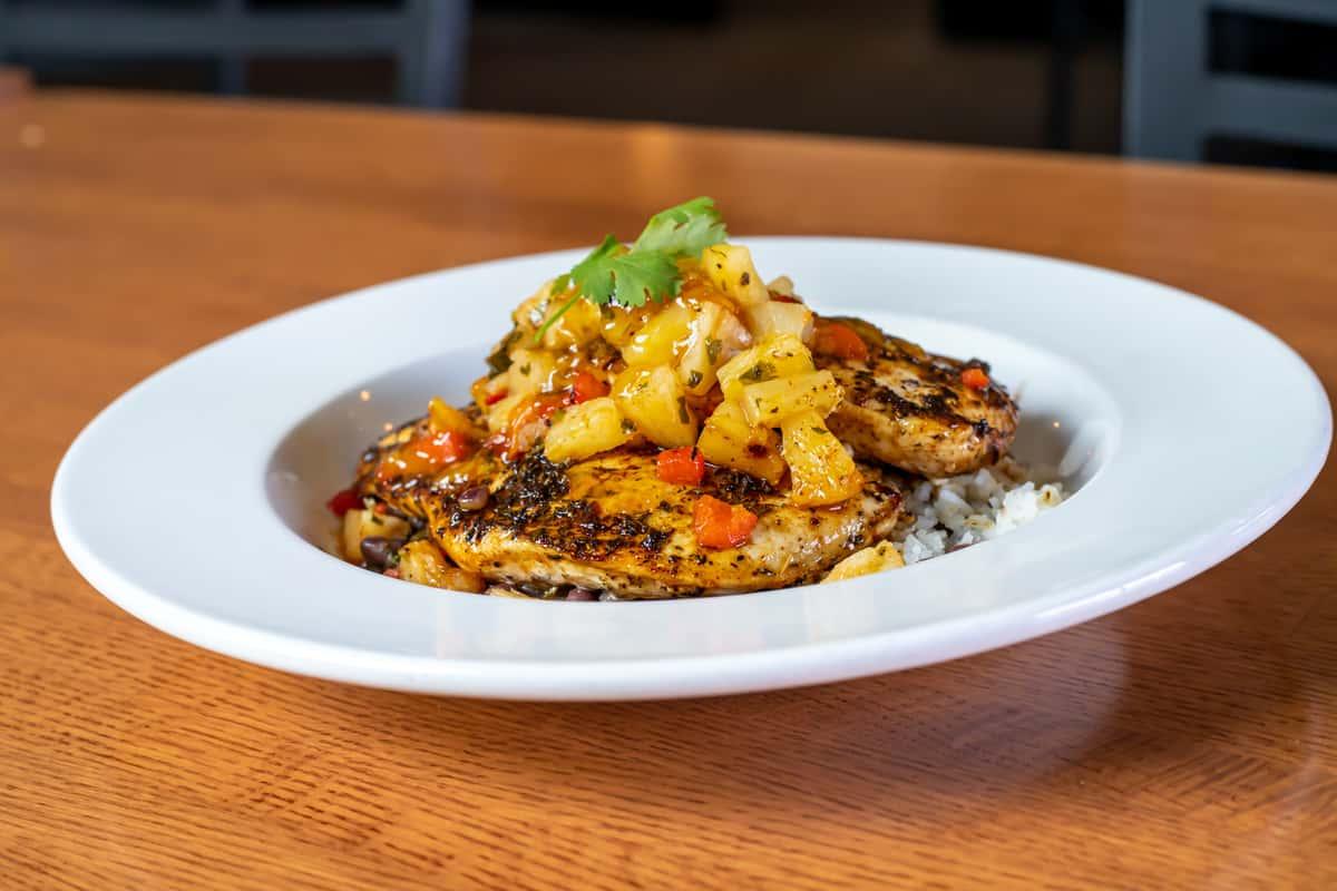 Caribbean Chicken Bowl