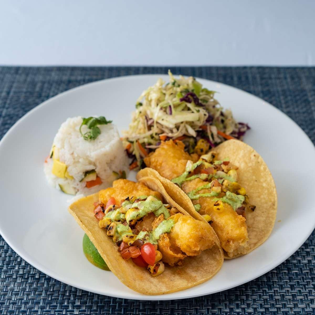 """Dailey"" Fish A La Playa Tacos"