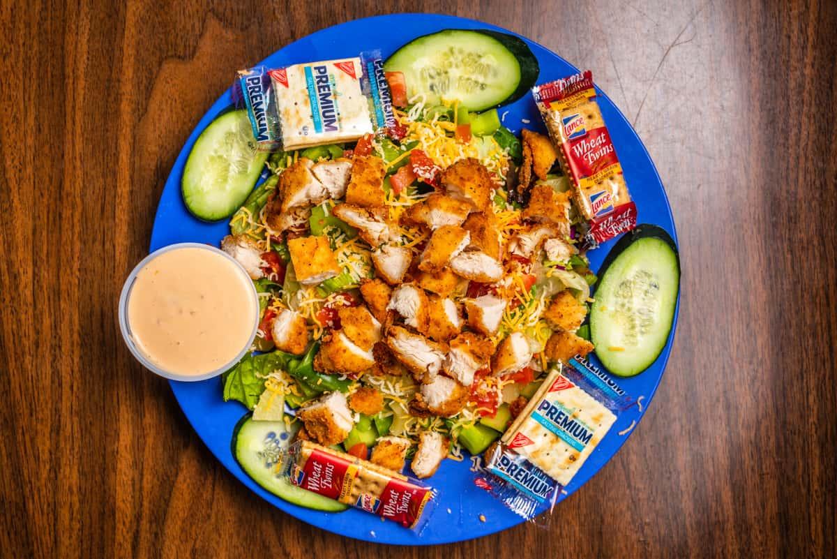 Chicken Bit Salad