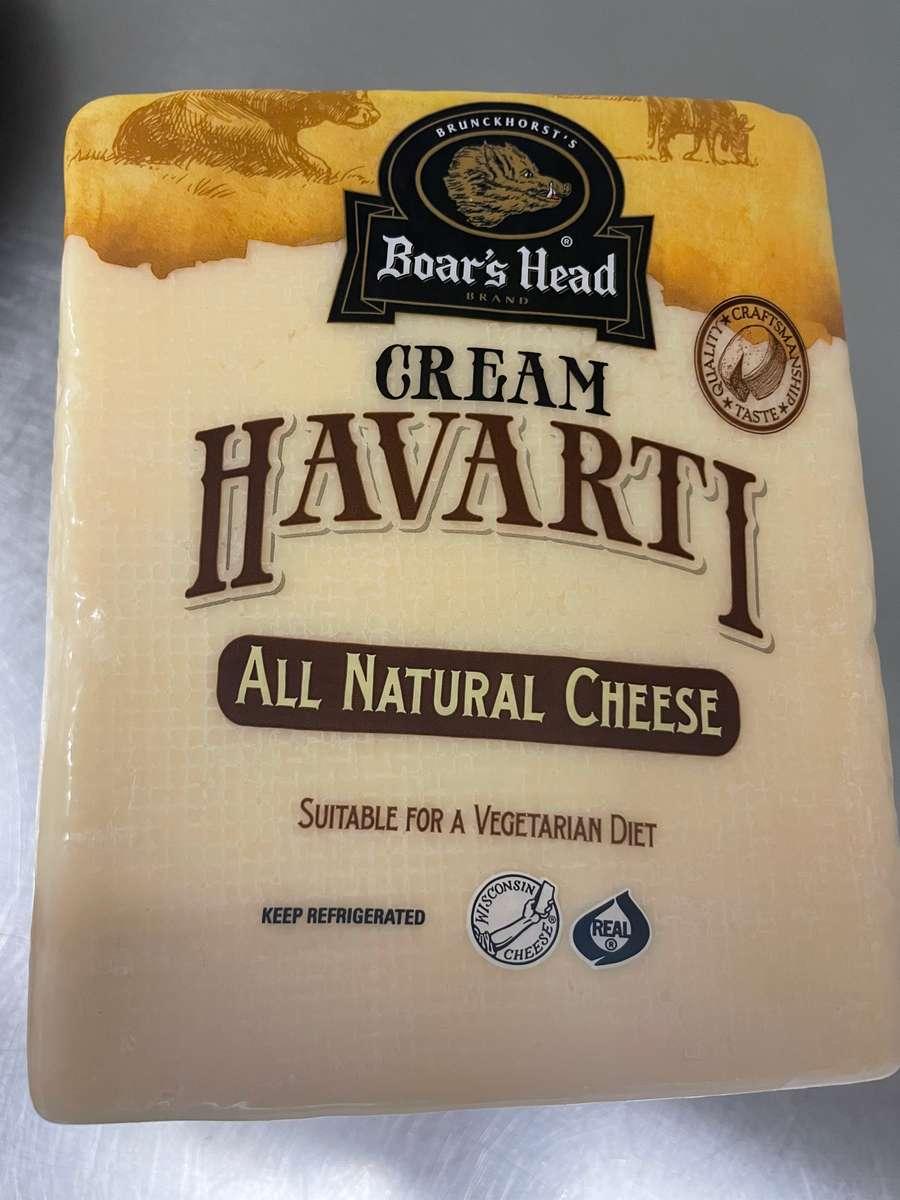 Havarti Plain Cheese