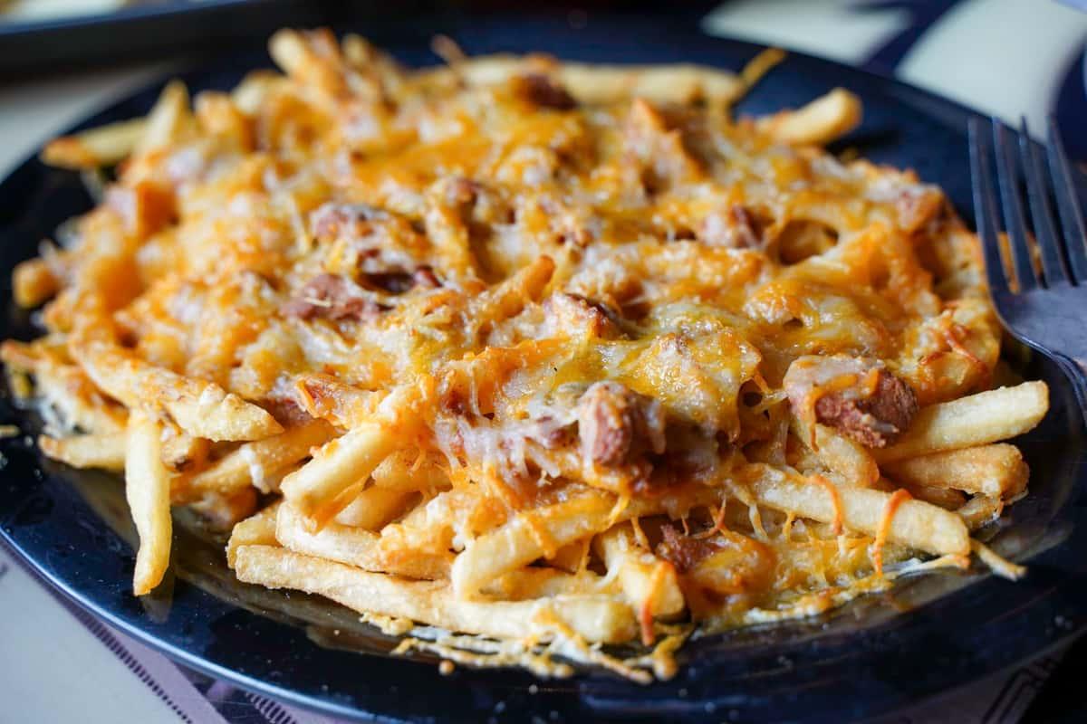 Green Chili Cheese Fries