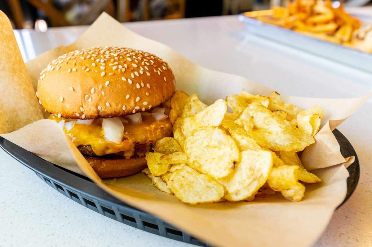 Snookies Hickory Burger
