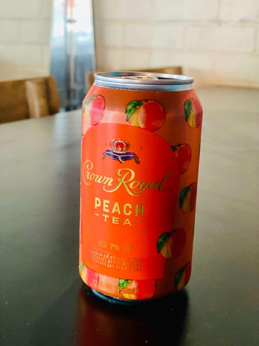 Crown Royal Peach Tea