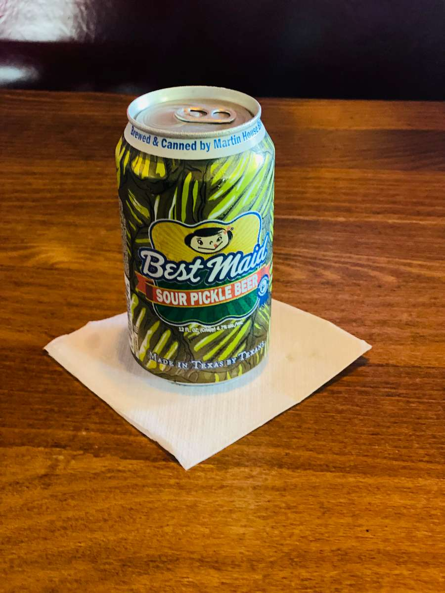 Best Maid Pickle Beer