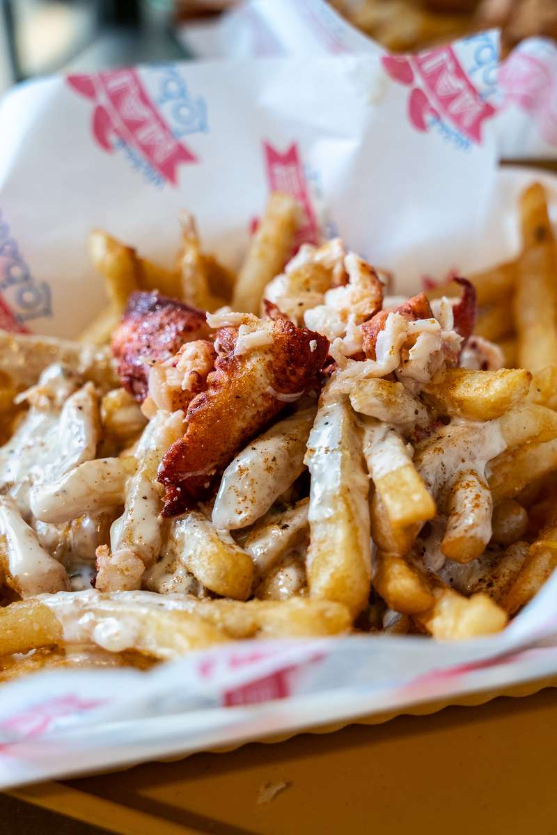 Lobster Queso Fries