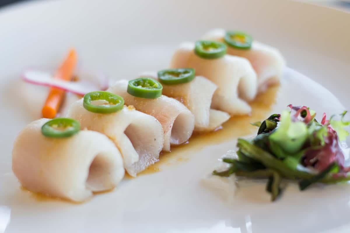 Yellowtail Sashimi with Jalapeno