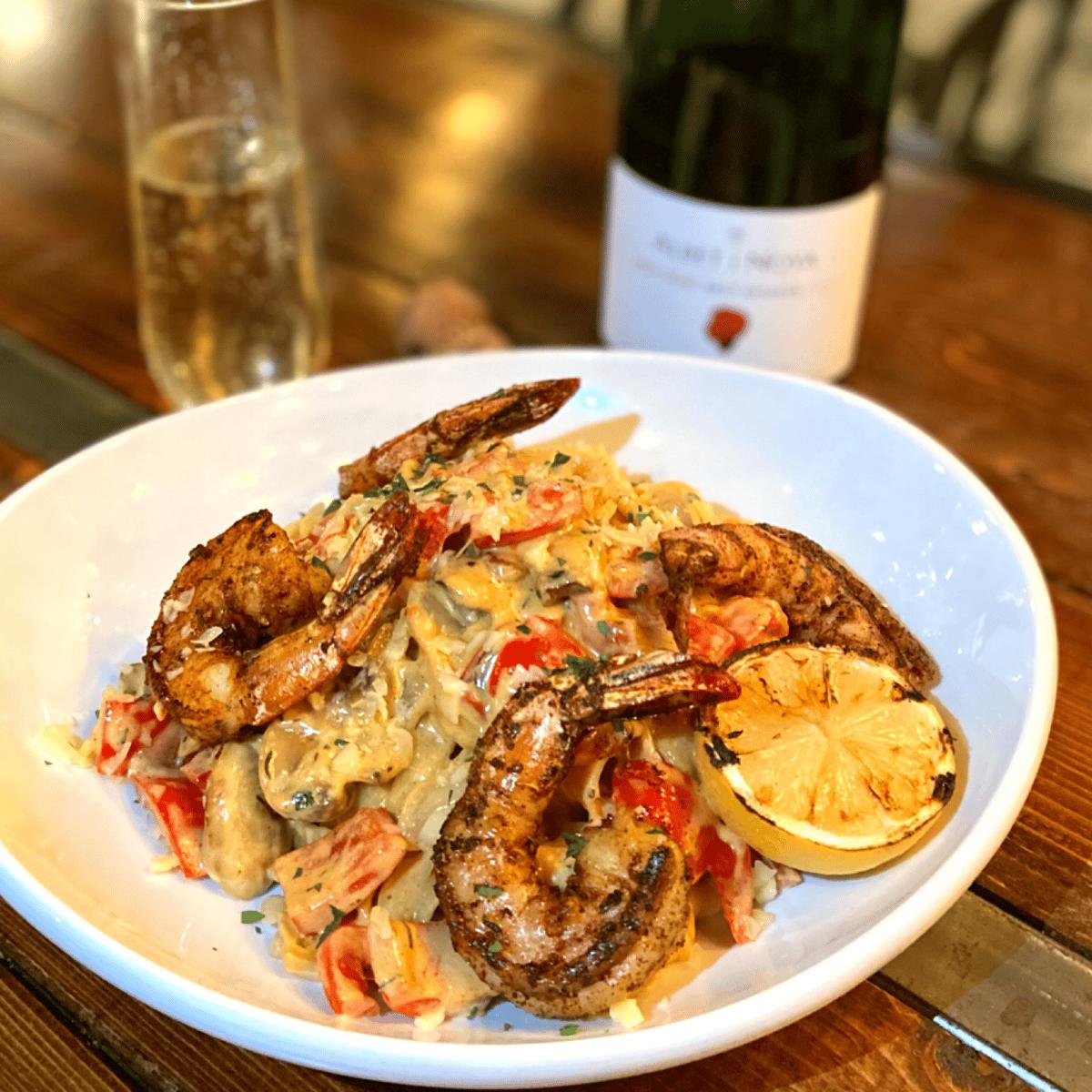 Cajun Shrimp Fettuccini