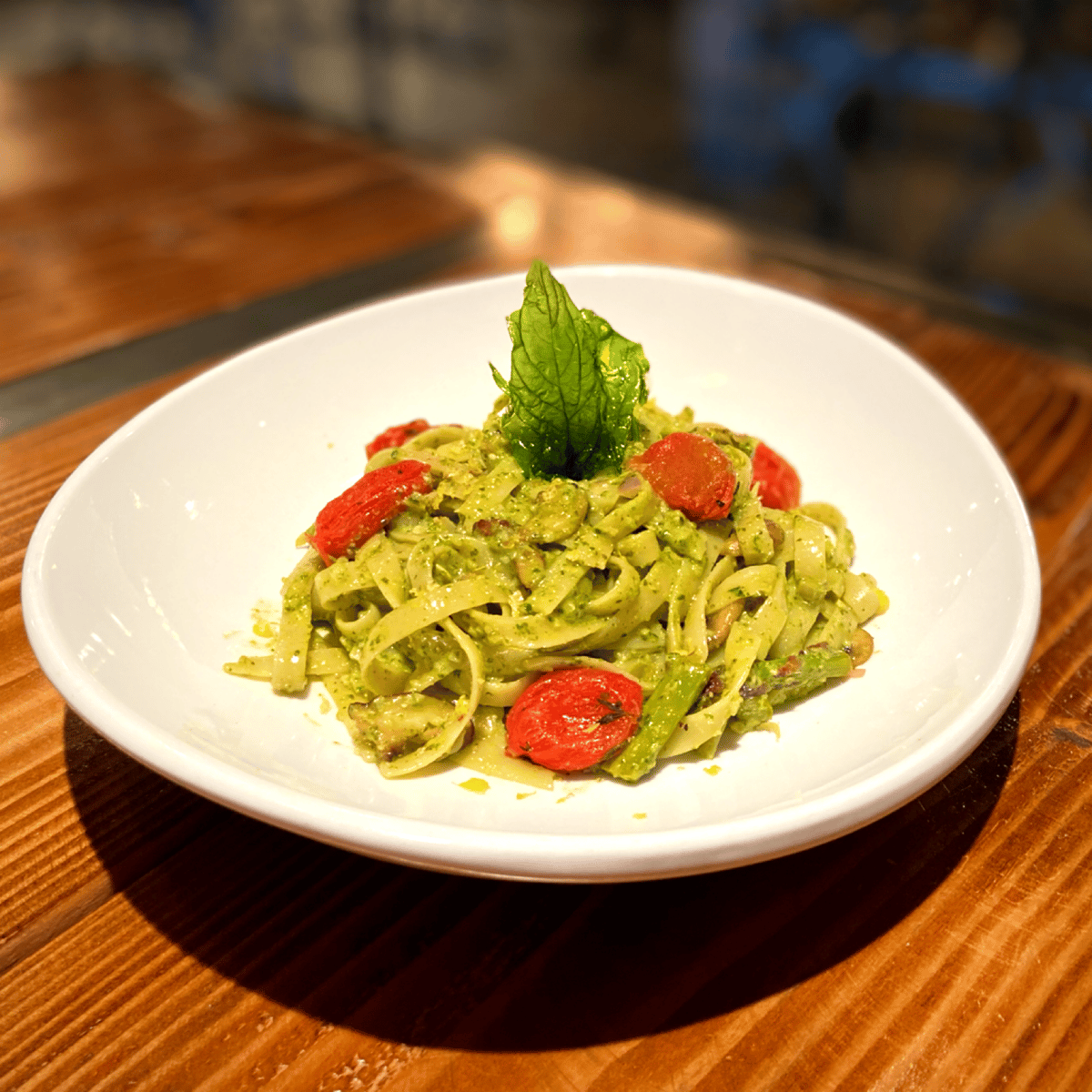 Pesto Tagliatelle