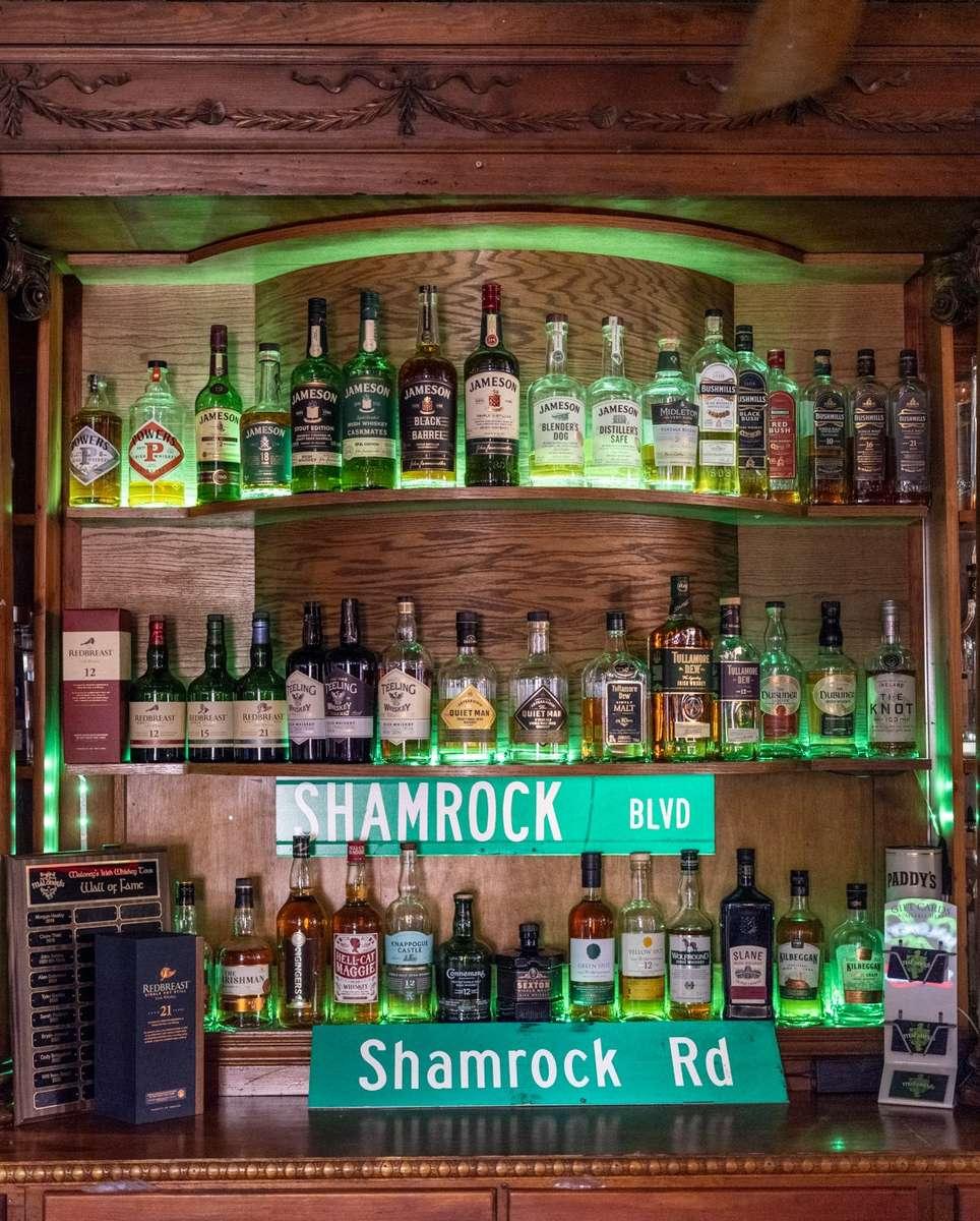 Largest Irish Whiskey Selection in Omaha