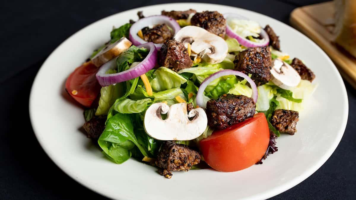 Steak Bit Salad