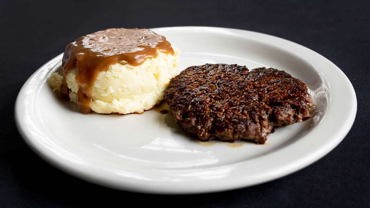 Small Hamburger Steak