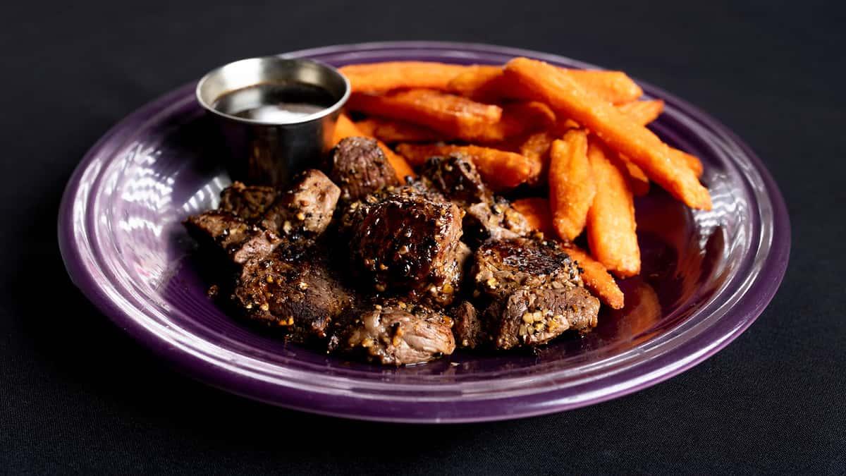 Garlic Steak Bits