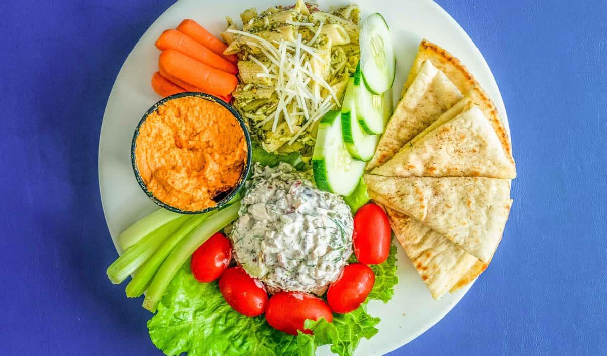 Trio Salad Plate