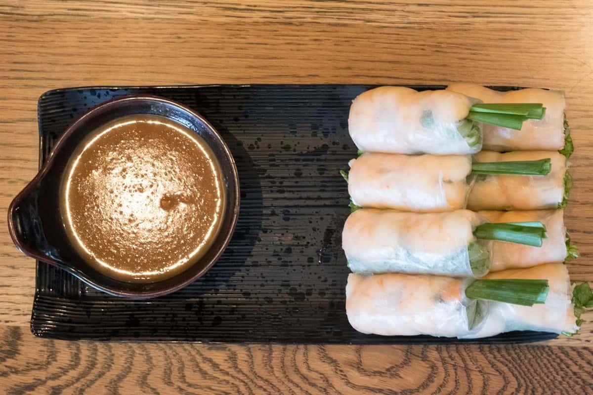 (P) Fresh Shrimp & Pork Spring Rolls - Gỏi Cuốn Tôm & Thịt