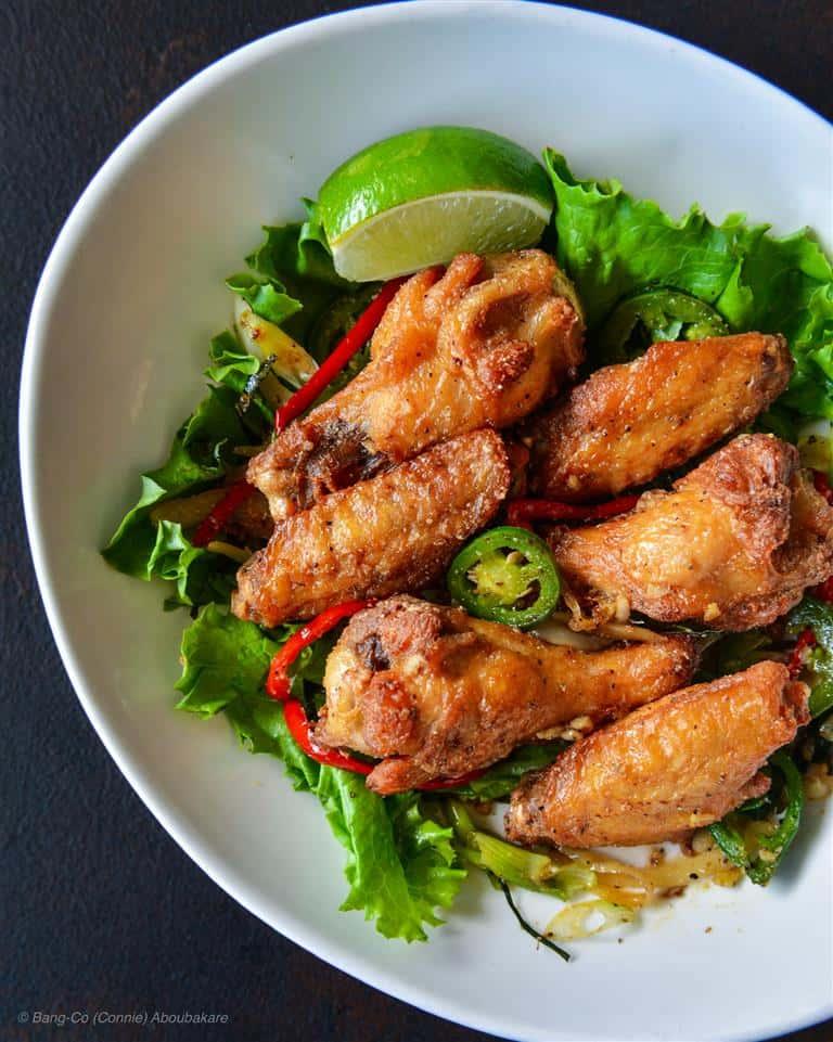 Lemon Pepper Chicken Wings (6pcs)