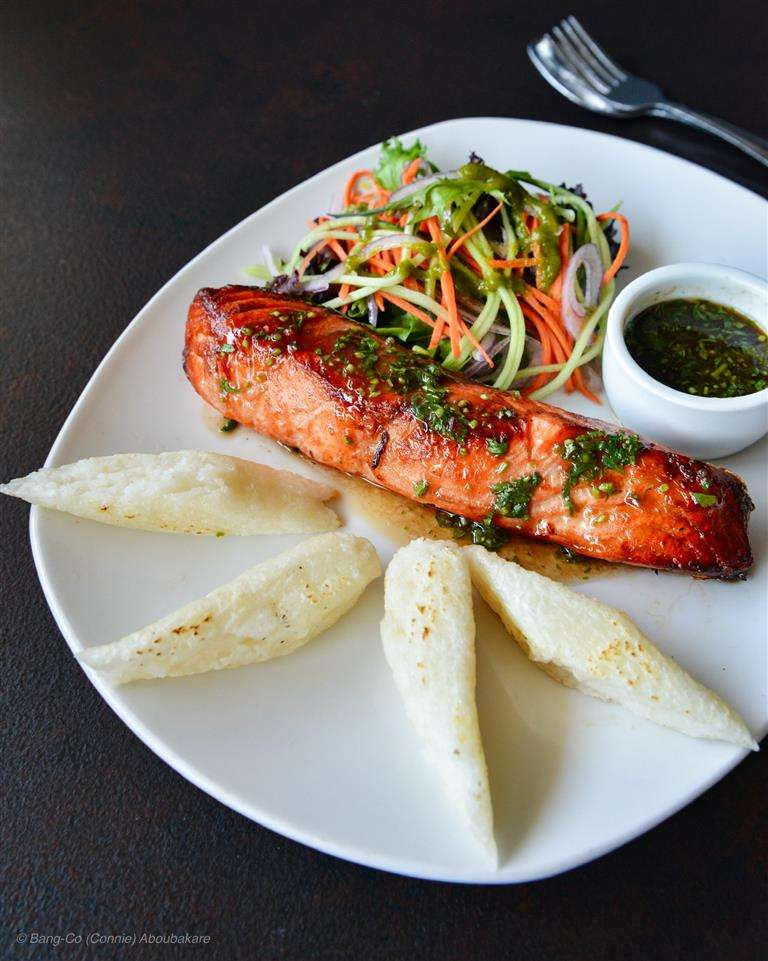 Grilled Fresh Ocean Trout