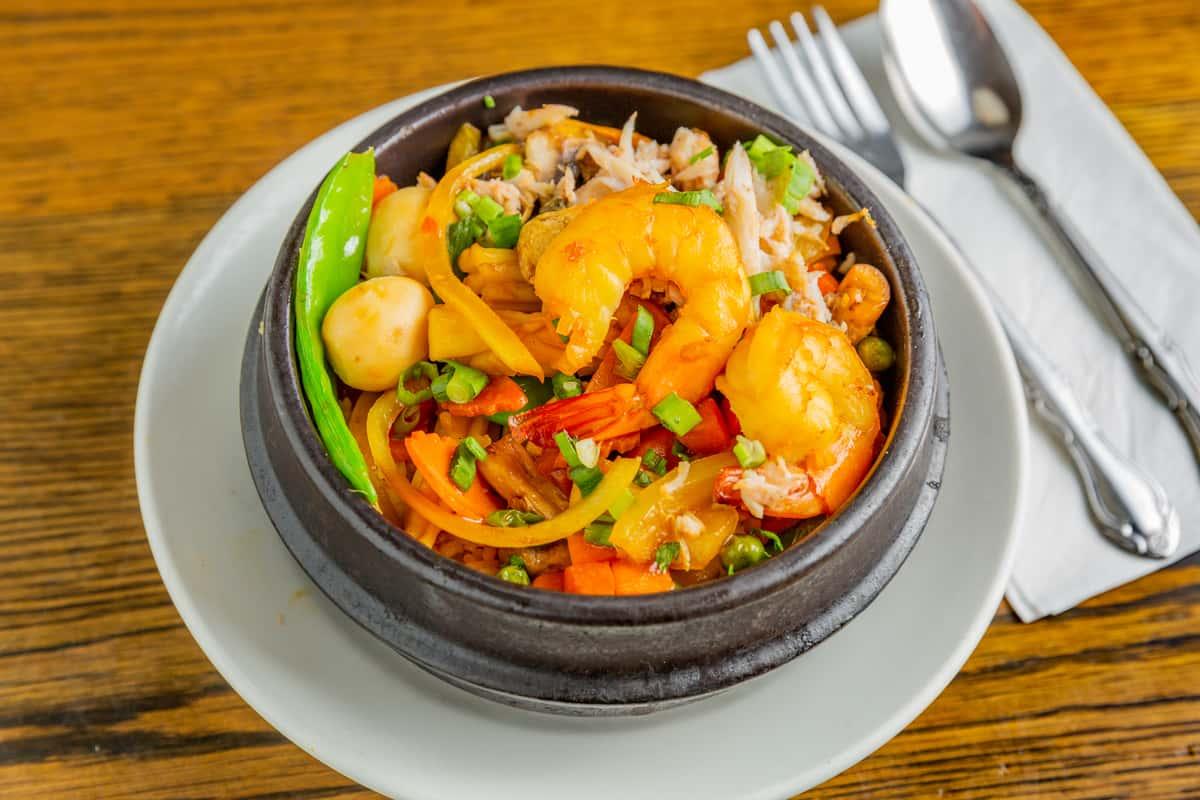 (~) Seafood Clay Pot - Cóm Niêu Tứ Xuyên
