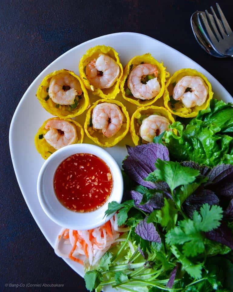 (~) Luna Rice Cakes with Shrimp - Bánh Khọt Tôm