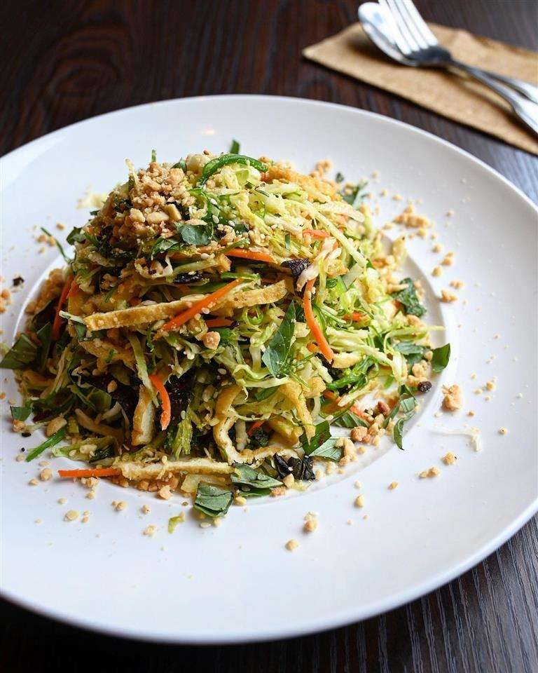 (P) Tofu Seaweed Salad (Vegetarian) - Gỏi Rong Biển (Chay)