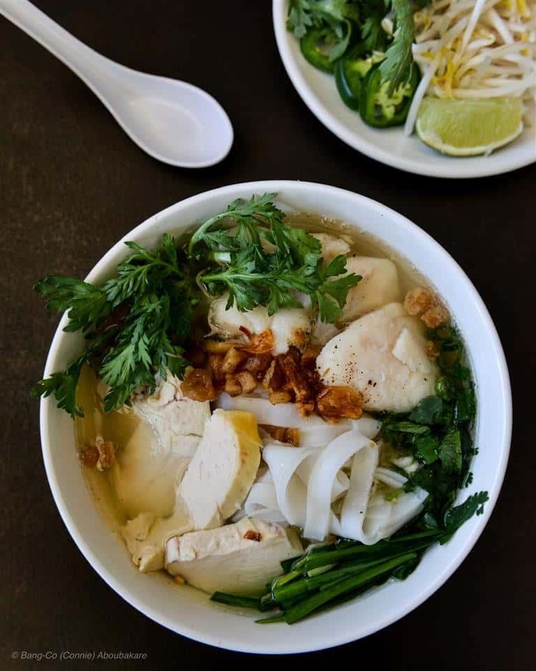 Chicken & Fish Noodle Soup - Mì Gà Cá