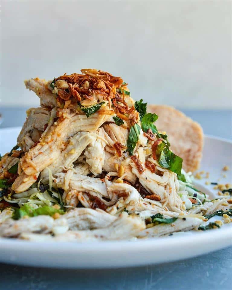 (P) Fresh Shredded Chicken Salad - Gỏi Gà