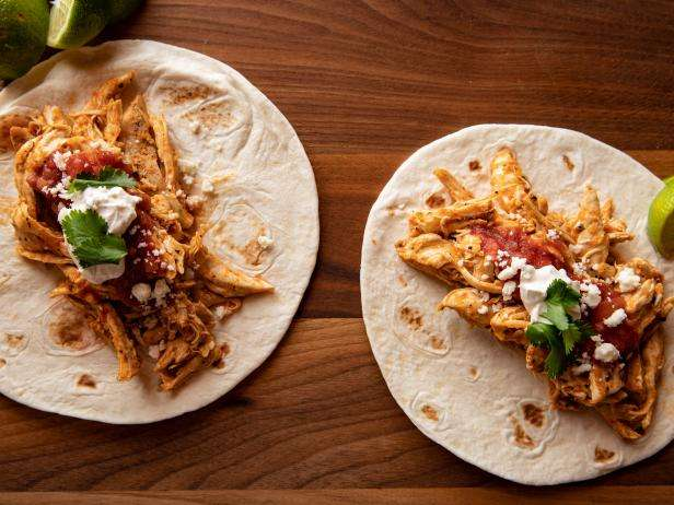 Pulled Chicken Taco