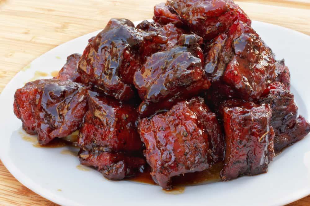 Pork Belly Burnt Endz