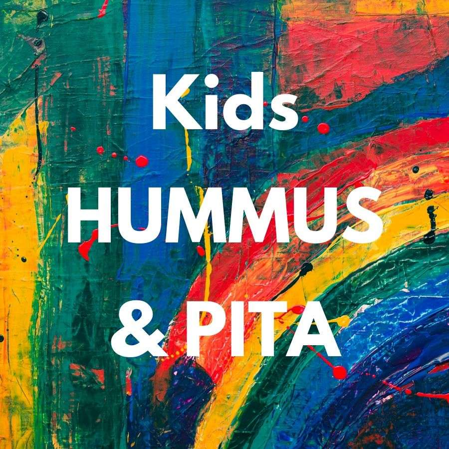 Kids Hummus & Pita
