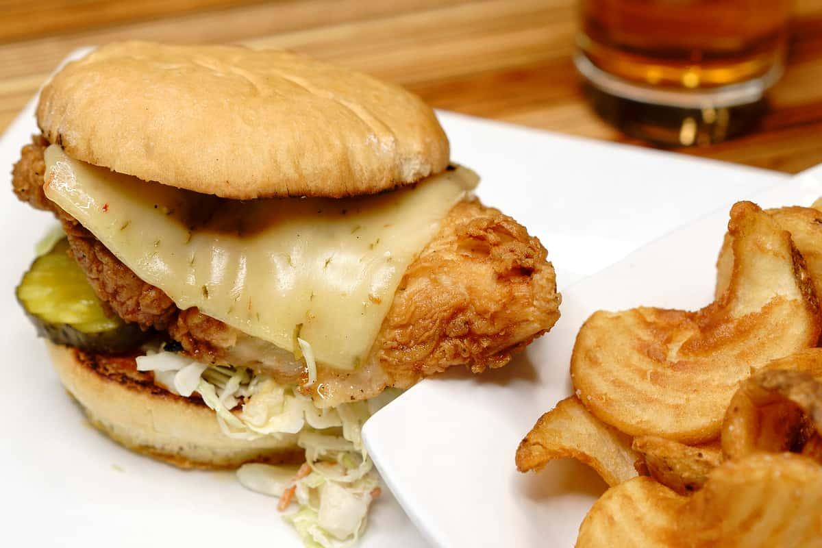 JB's Fried Chicken Sandwich