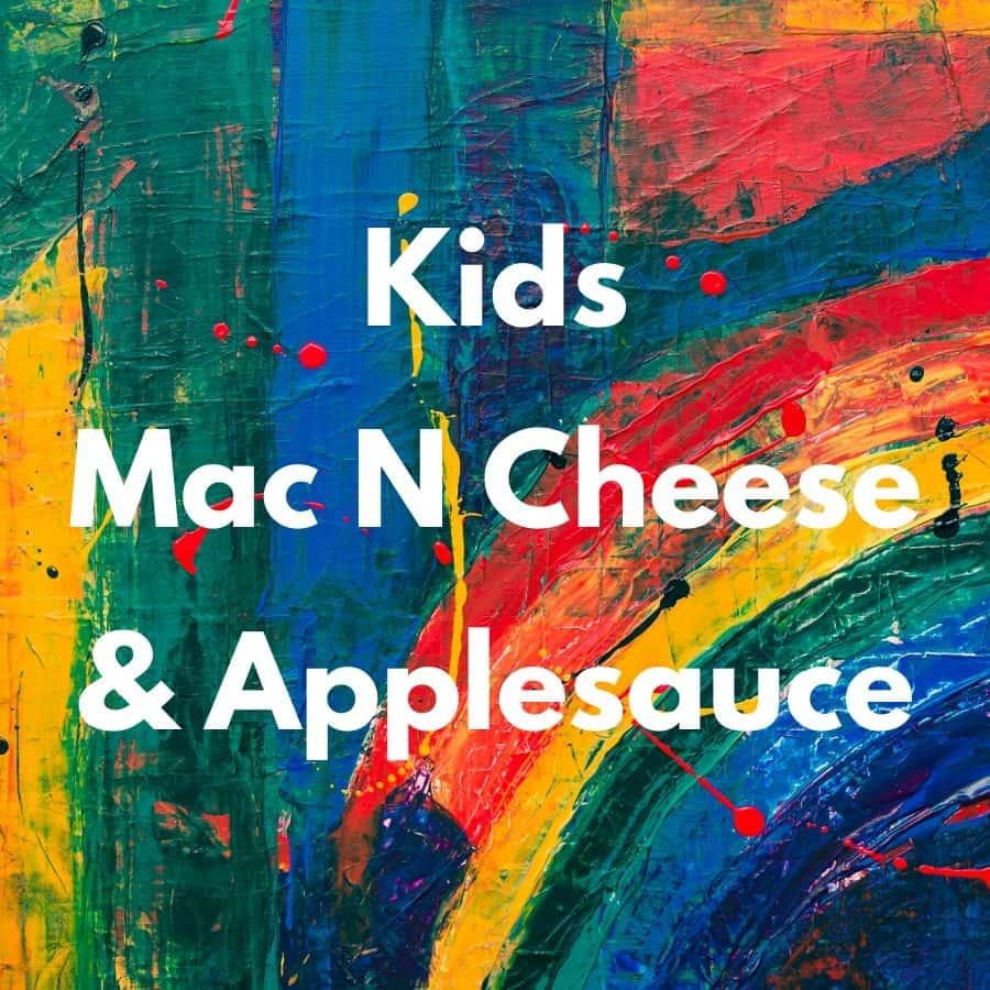 Kids Mac N Cheese