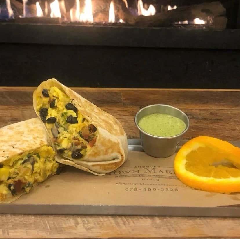 The Southwestern Burrito
