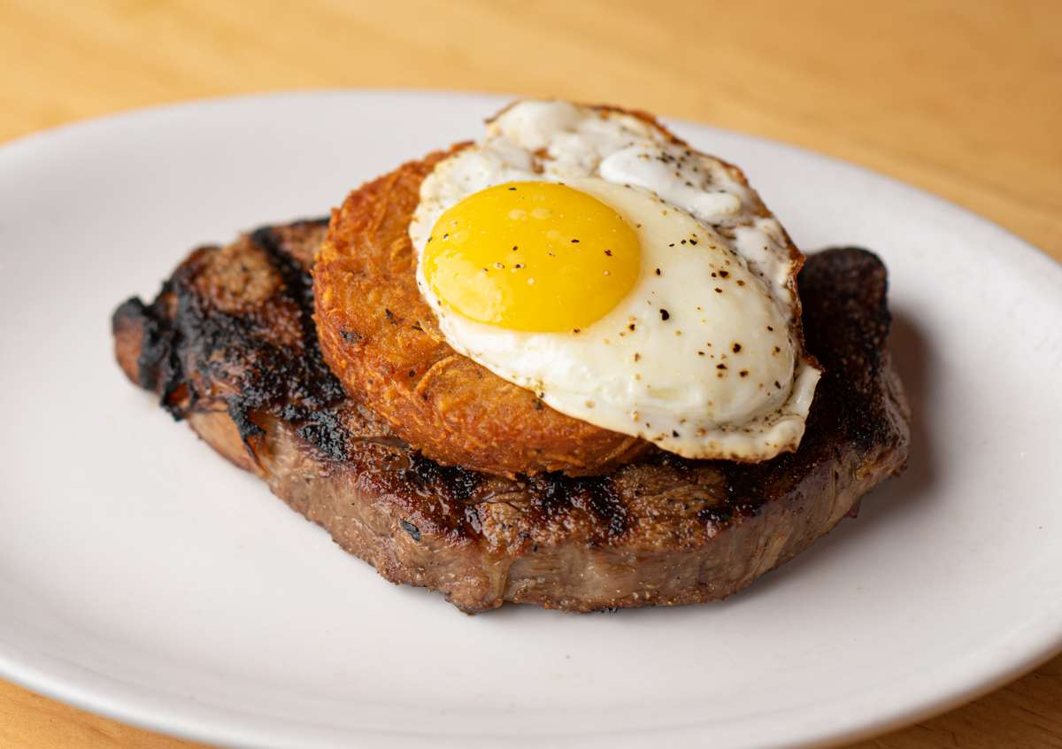 Fried Egg & Hash Brown