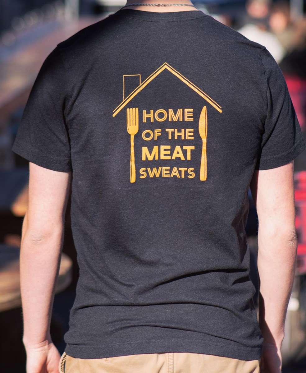 Home of the meat sweats (black)