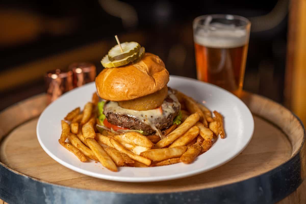 Whiskey Steak Burger*
