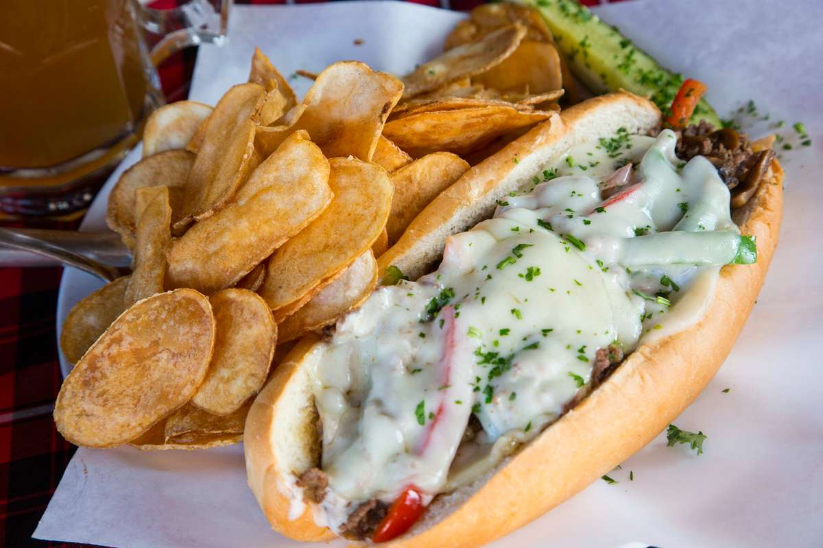 Gourmet Philly Cheese Steak