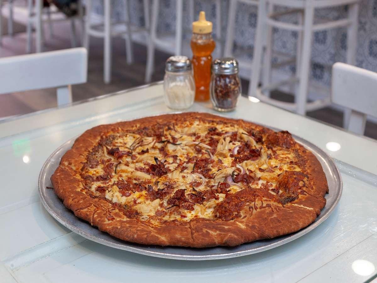 Sweet Heat BBQ Chicken Pizza