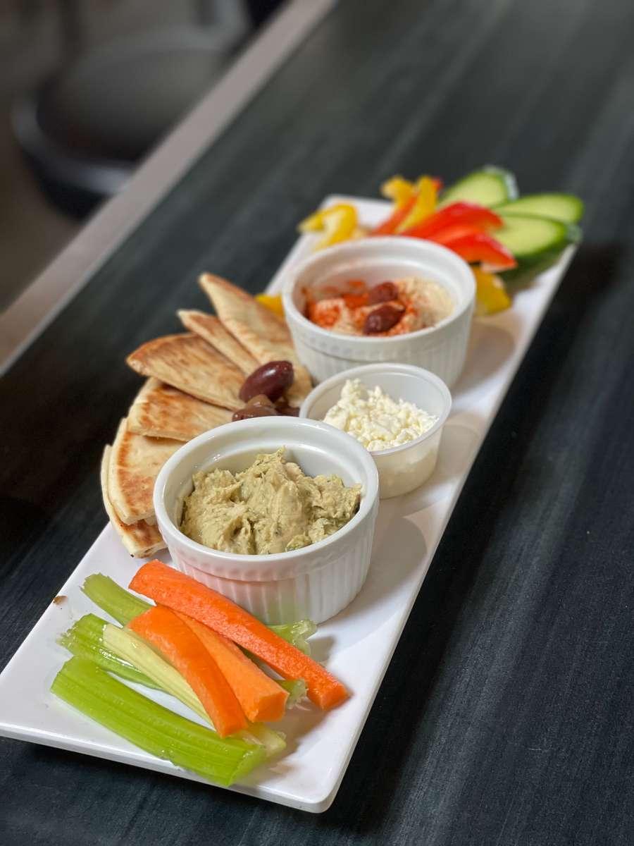 Hummus + Pita Bread