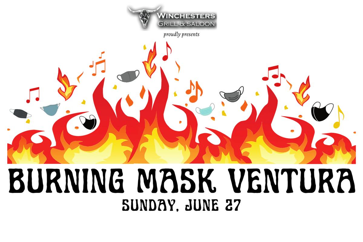 Burning Mask Ventura logo