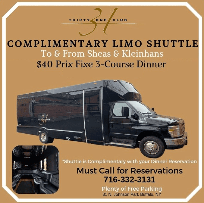 Complimentary Shuttle To the Theatre