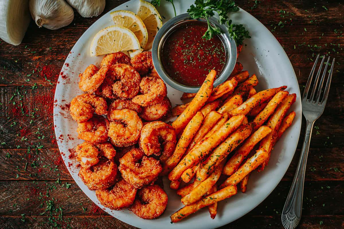 Poppin Popcorn Shrimps