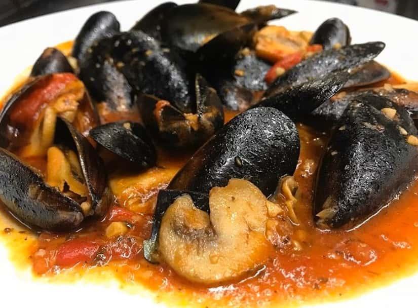 Mussels Diablo - Spicy