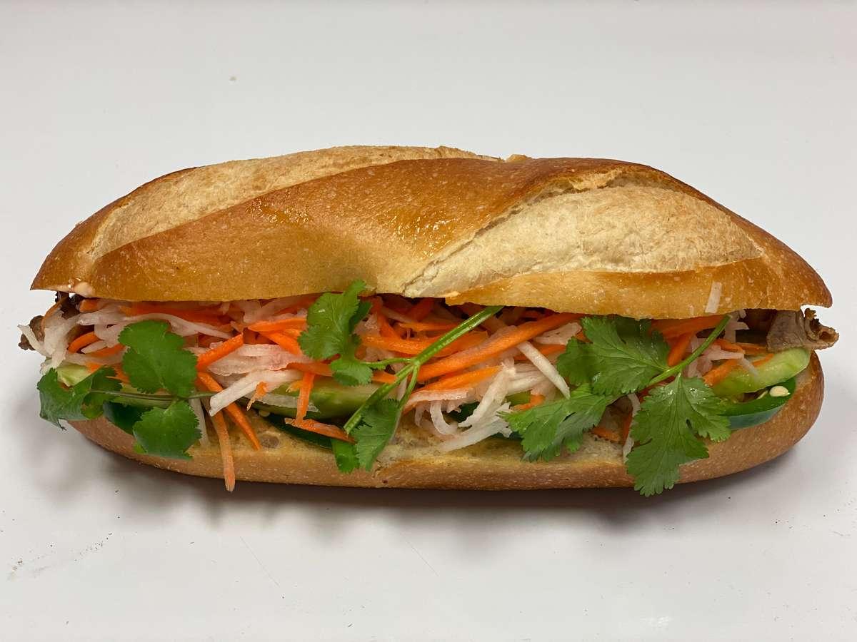 ATA's Veganamese Banh-Mi Sandwich